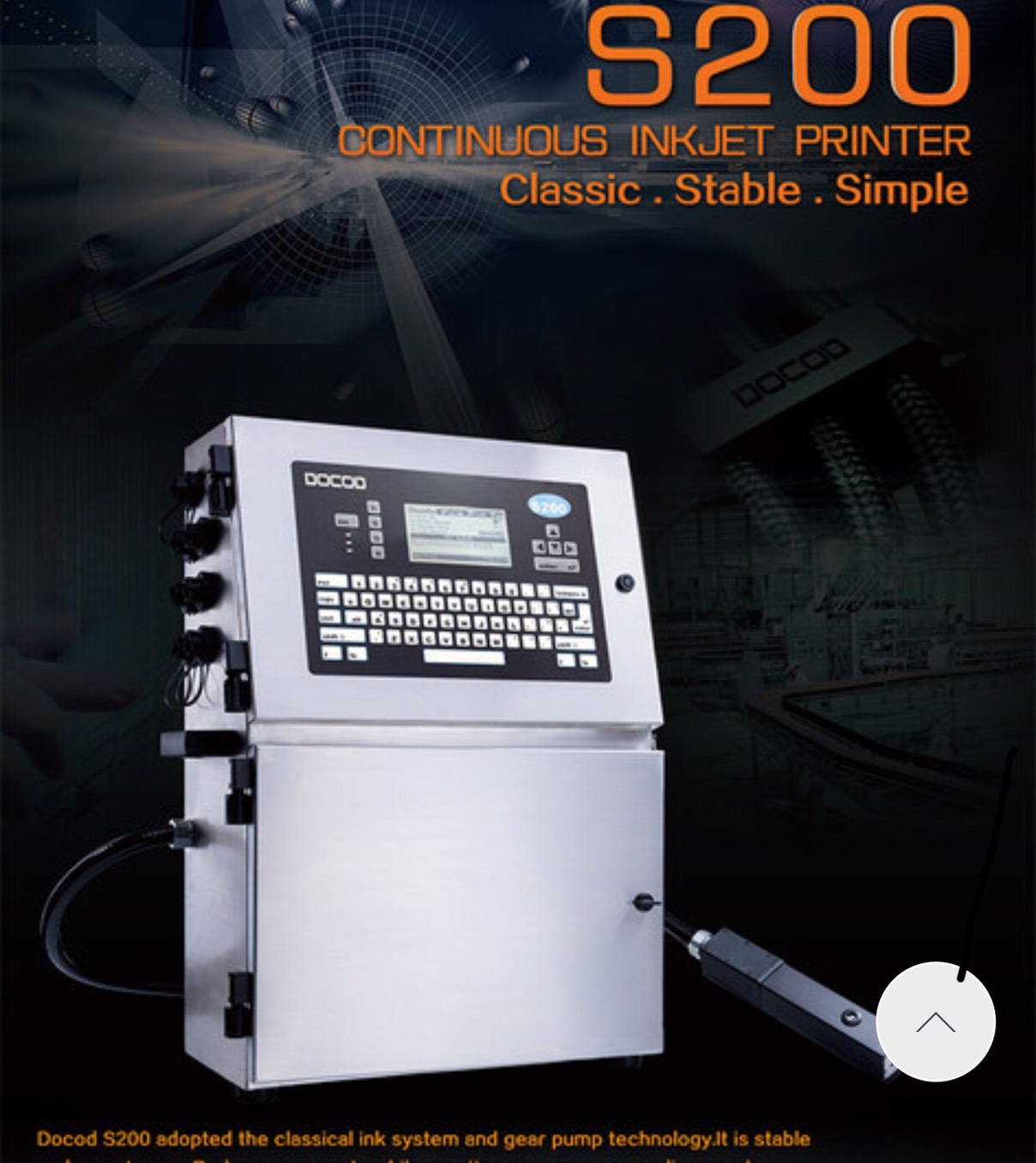 Máy In Công Nghiệp Docop S200
